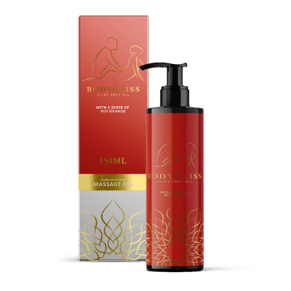 BodyGliss Massage - Red Orange 150ml